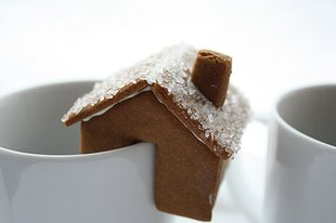 food_gingerbread cup house