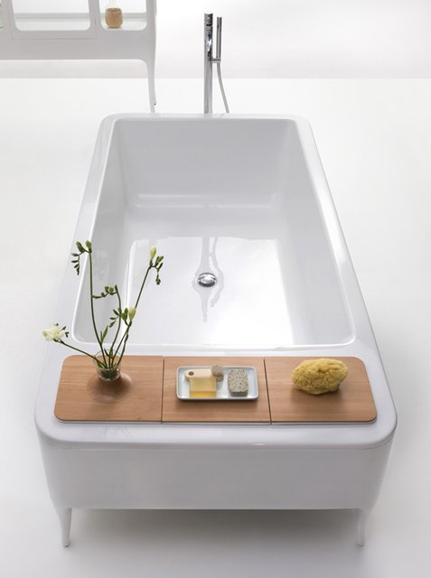interior design bathtub modern