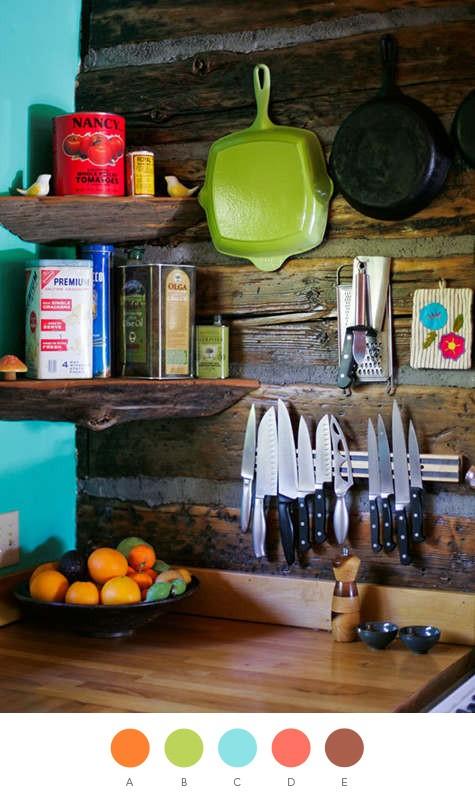 interior design knife holder creuset pans